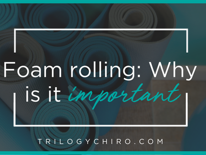 FOAM ROLLING- WHY IS IT IMPORTANT?
