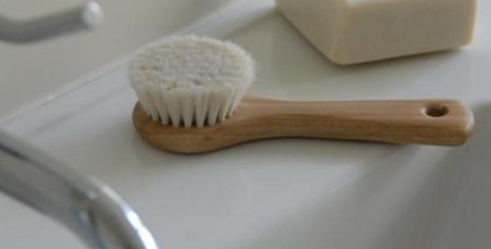 Facial Brush-Goat Hair