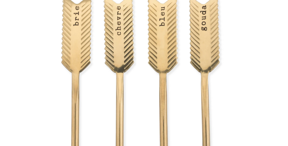 Chateau Golden Arrow Stainless Steel Cheese Markers