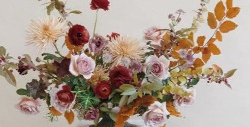 Thanksgiving Floral Arrangement Nov.14