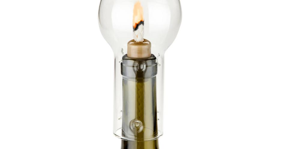 Boulevard Hurricane Bottle Lamp