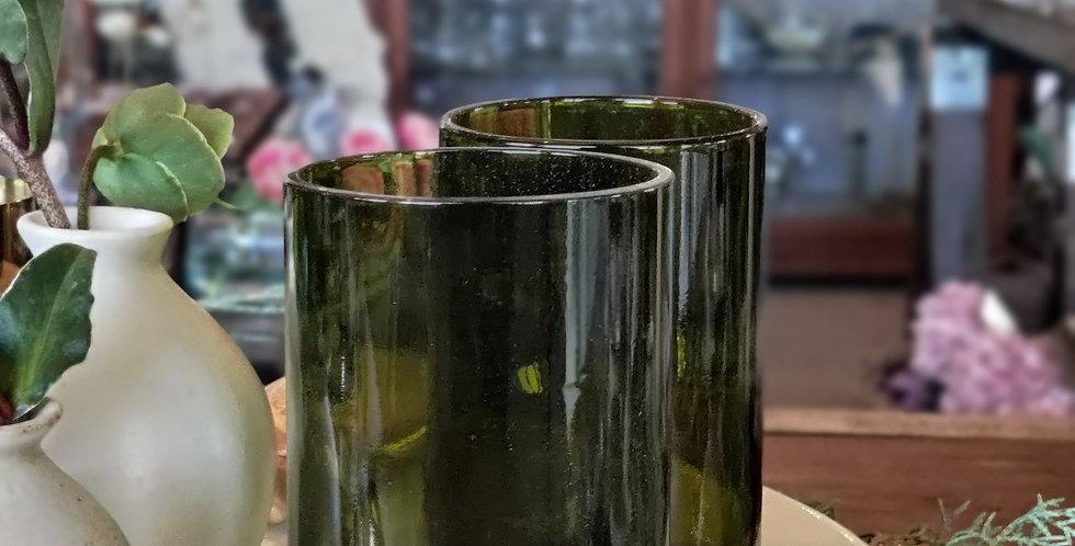 Green GlassTumblers