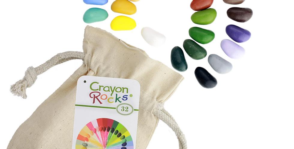Crayon Rocks in a Bag 36
