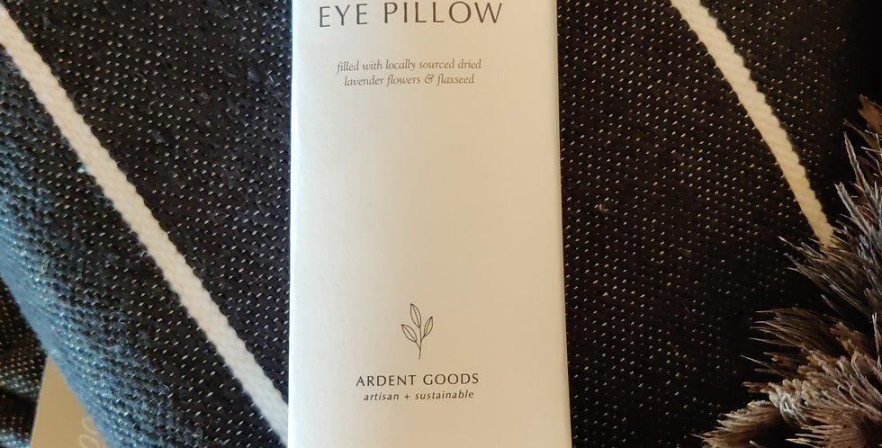 Eye Pillow. Lavender and Flax