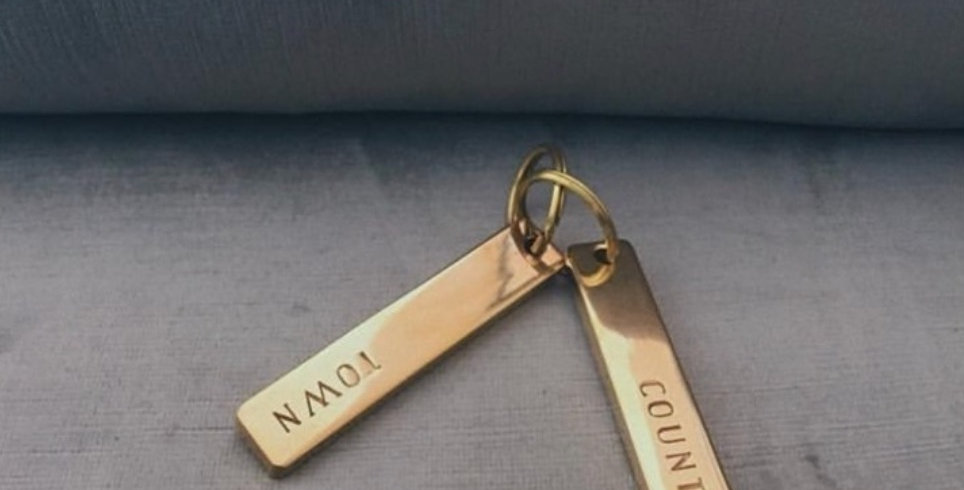 Town and Country Key Rings