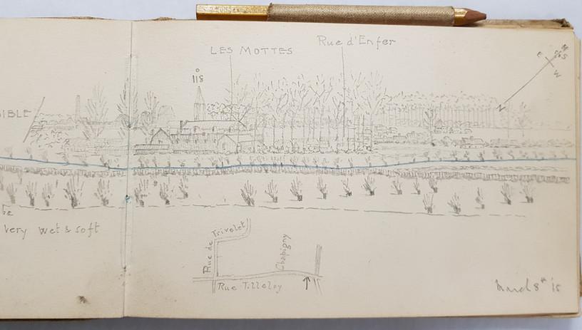 Stanley Woolrych's sketchbook