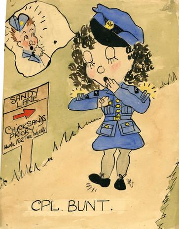 Billie King's Cartoon