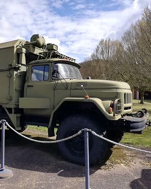 Soviet Zil truck