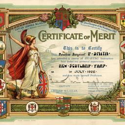 Jiu-Jitsu Certificate