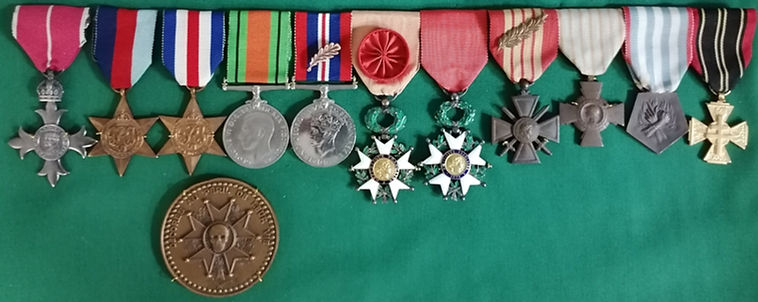 Pierre Le Chene medals