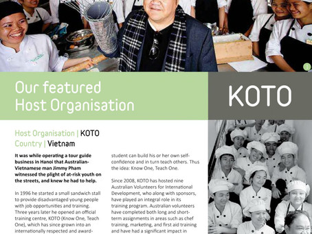 KOTO is featured in Connect Magazine