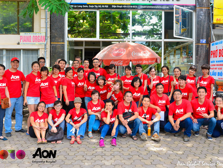 Global Service Day with Aon