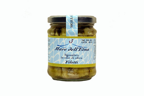 Filet de Maquereau à l'huile d'olive - 200g