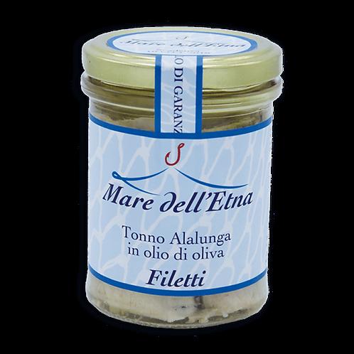 "Filets de Thon blanc ""Alalunga"" à l'Huile d'Olive - 200g"