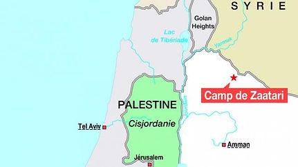 Plan du camp de Zaatari