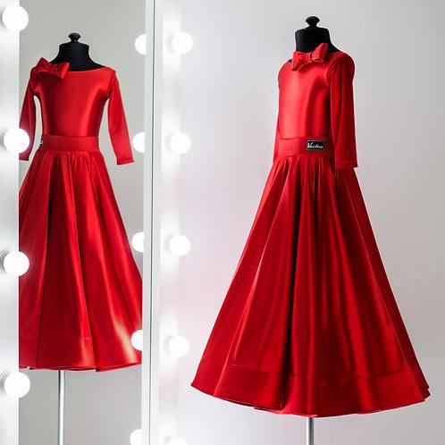 Платье для спортивно бальных танцев от Vasilevadance «Emilia»