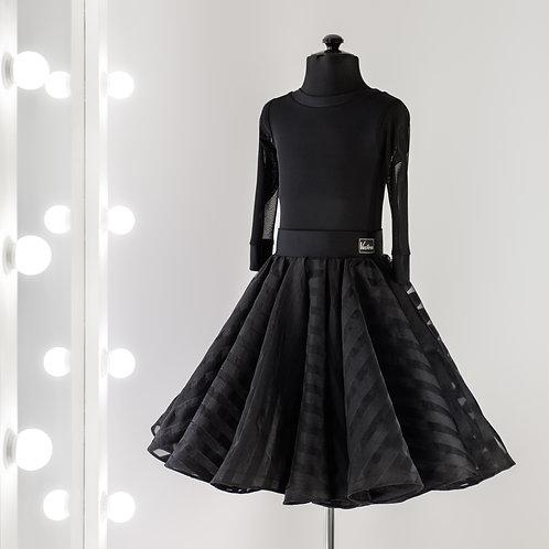 Рейтинговое платье, Рейтинговые платья, Рейтинг на заказ, Платье для турнира в полоску, Танцевальная одежда для танцев