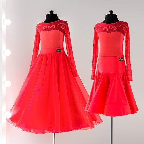 Пошив бальных платьев, Рейтинговое платье для бальных танцев, Стандарт, бальные платья стандарт, платья для стандарта, стср
