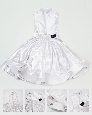 Белое рейтинговое платье Standart 2 от Vasileva dance