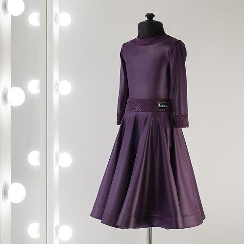 Standart №10-01-01  Рейтинговое платье для спортивно бальных танцев