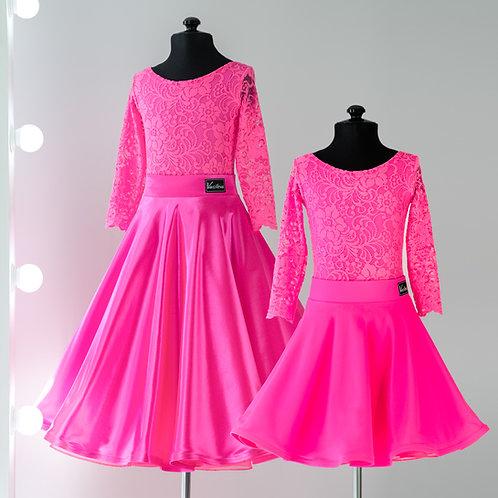 Платье для спортивно бальных танцев от Vasilevadance «Duet»