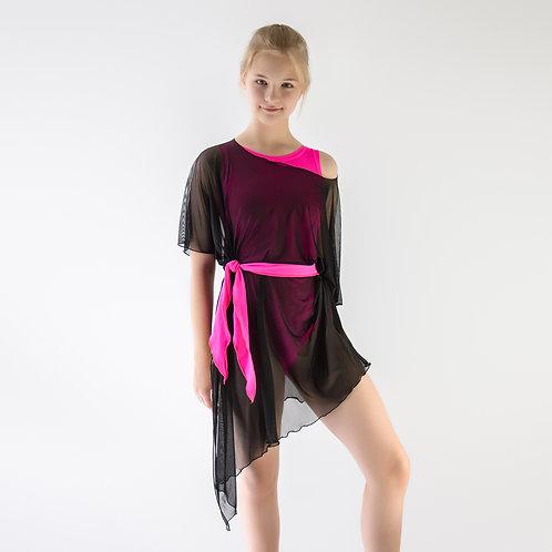 Туника, накидка для тренировок по спортивно-бальным танцам. Танцевальный магазин. Танцевальная одежда для танцев и тренировок