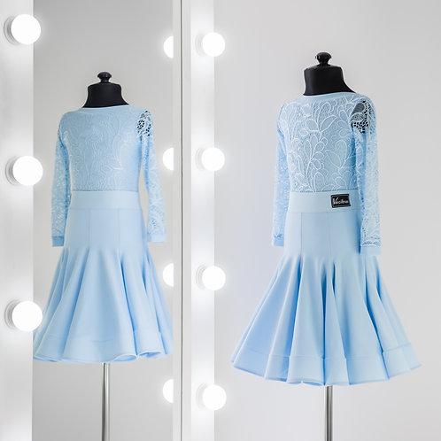Рейтинговое платье годе 8 клиньев, Рейтинговые платья, Рейтинг на заказ, Платье для турнира, Танцевальная одежда, юбка годе