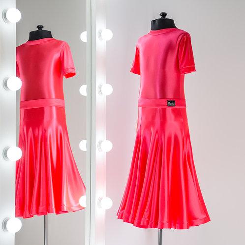 Рейтинговое платье годе 8 клиньев, Рейтинговые платья от Vasilevadance для турнира на заказ, Танцевальная одежда, юбка годе