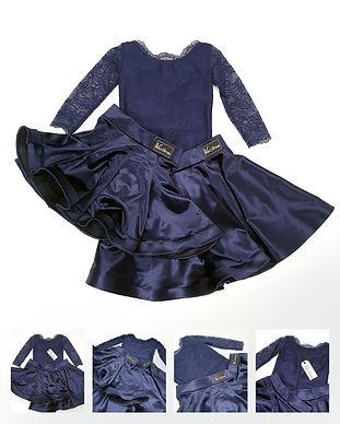 Рейтинговое платье для бальных танцев Duet в наличии. Танцевальный магазин. Одежда для танцев в Москве.