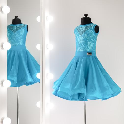 Vanessa №1-01-02 Платье для бальных танцев