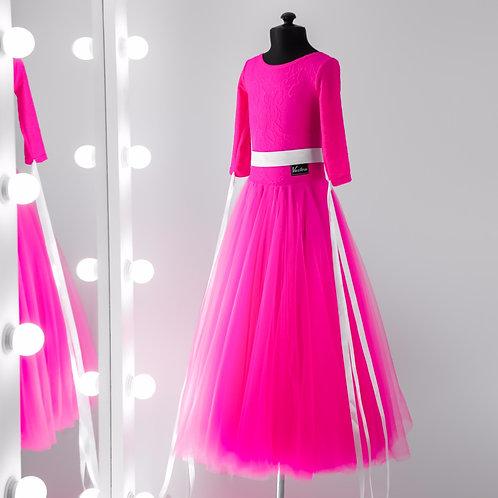 Vasileva dance. Платье для спортивно бальных танцев. Платья для стандарта. Бальное платье. Ю1. Юниоры 1. Одежда для танцев