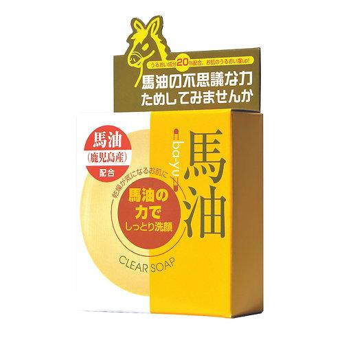 日本YUZE馬油深層滋潤美容皂
