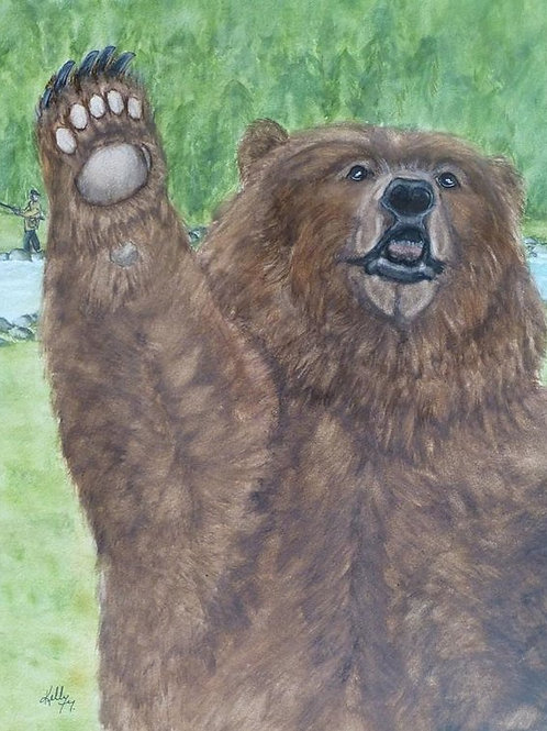 Waving Grizzly