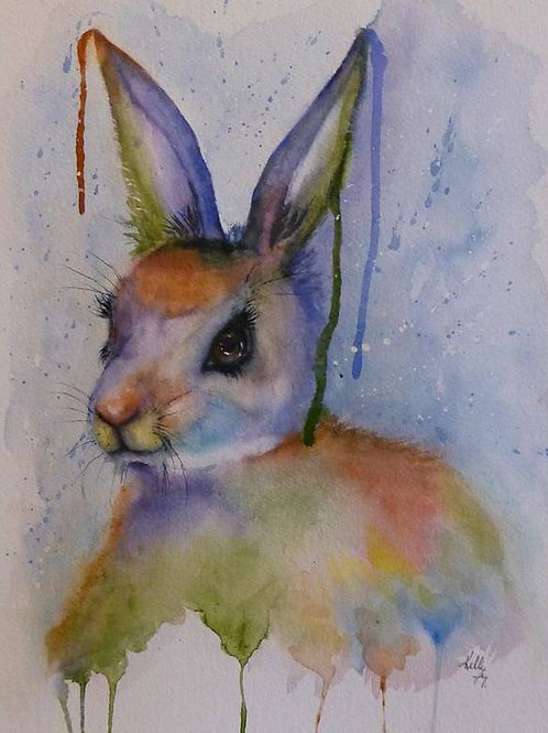 Colorful Bunny