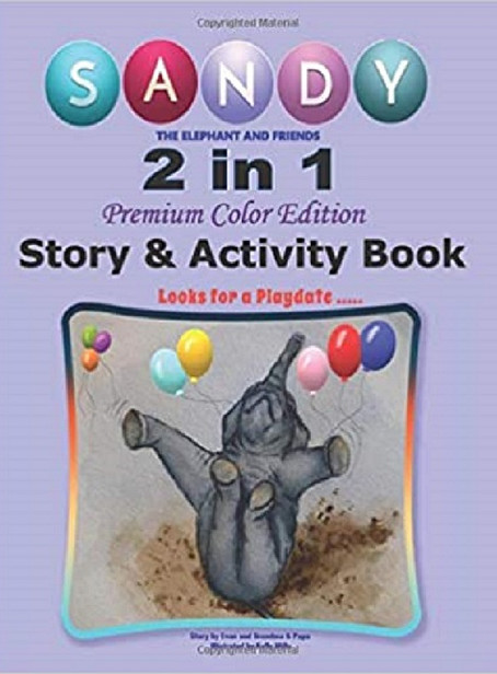 """2 in 1 Story & Activity Book - """"A GREAT NEW CONCEPT"""""""