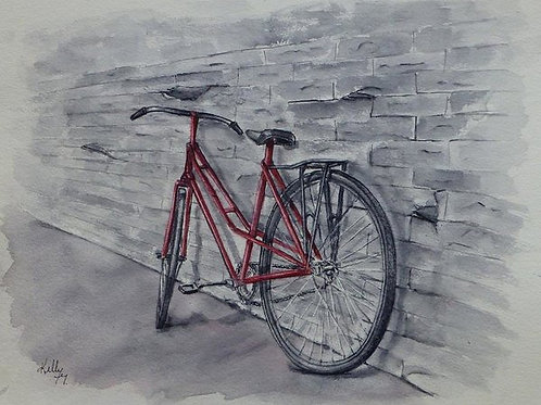 Bicycle in Red