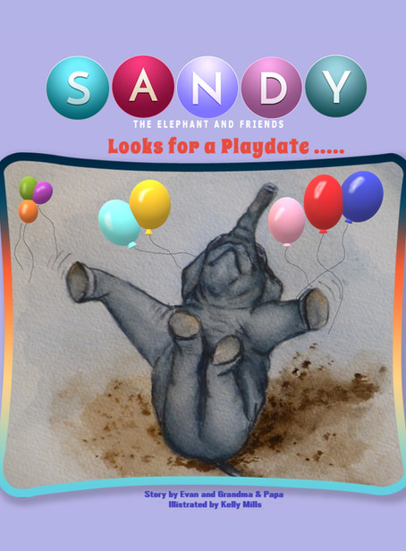 Kindle Book Review for Sandy the Elephant and Friends