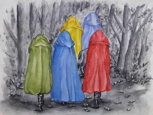 Red Riding Hood and Friends