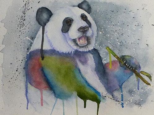 Color my World Panda (Sadie)