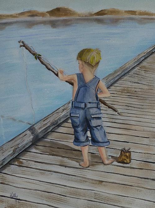 Junior's Fishing Pole