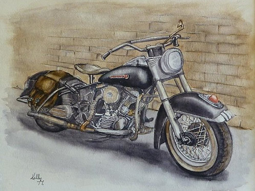 1950's Harley Davidson