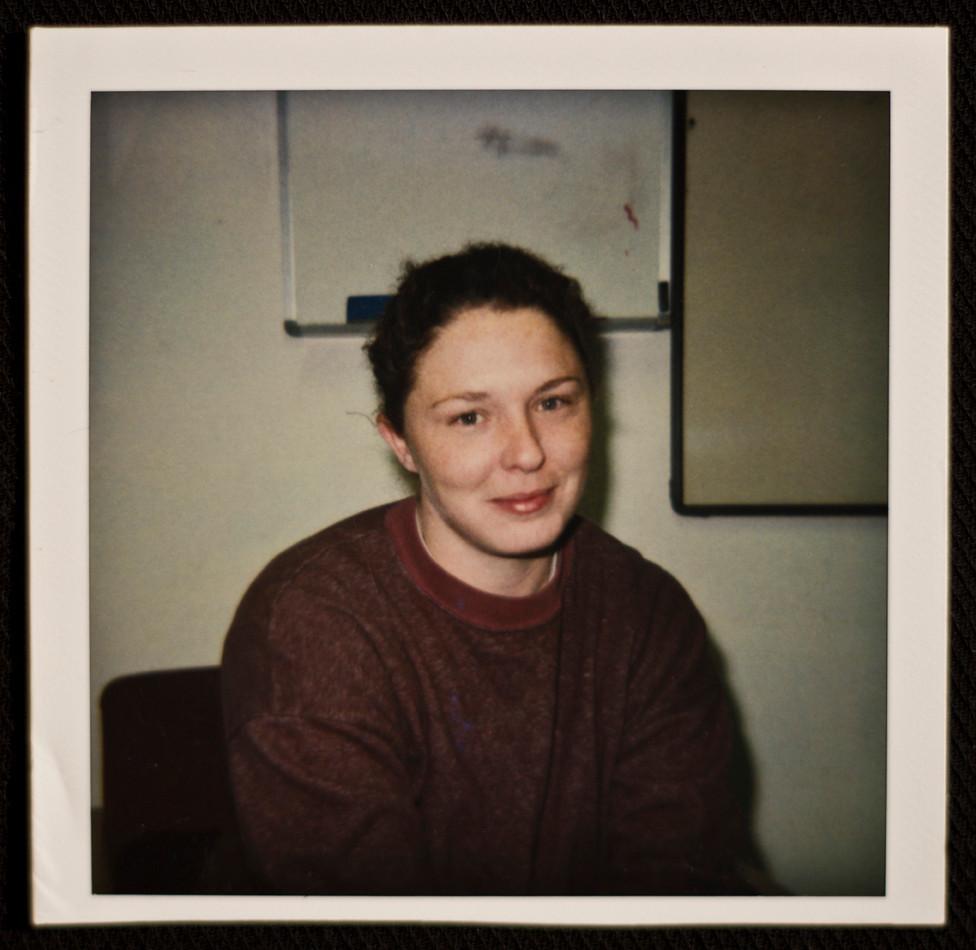 Bindi Cole Chocka in prison, 2001.