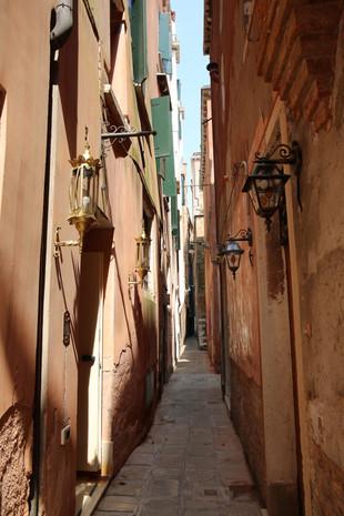Venice Italy Narrow Alley
