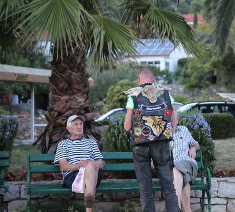 Biker with the Locals Stari Grad