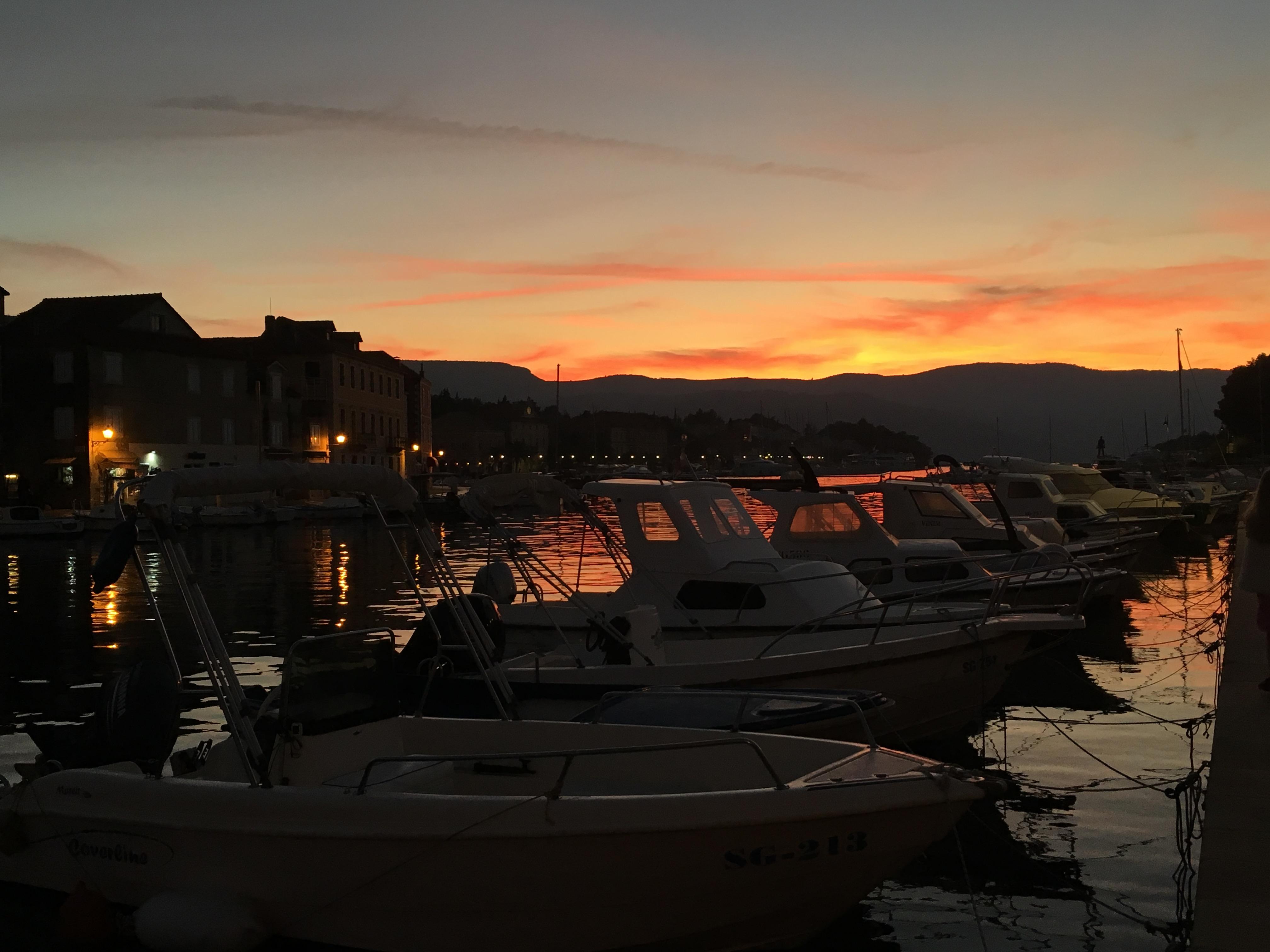 Stari Grad Sunset