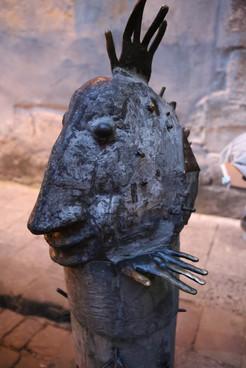 A Statue In Lviv - Smile