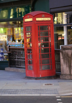 Olden Phone Booth