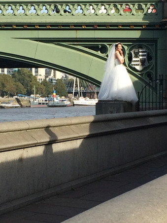 Bride in London
