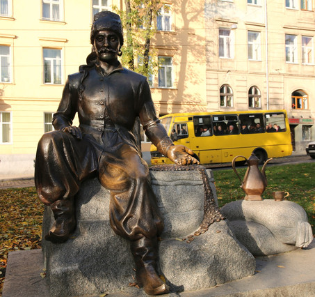 A Statue In Lviv - Bringer Of Coffee