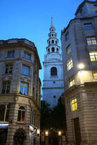 Buildings at Night London